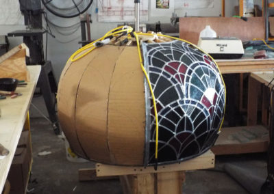Fabrication of 1st half of small dome