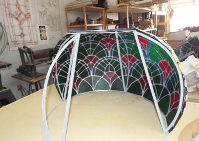 Small dome support structure