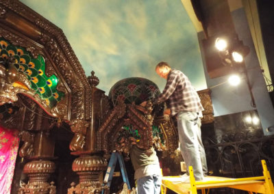 Installation of small dome
