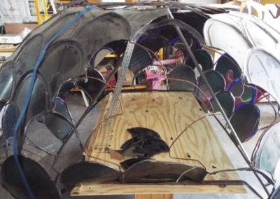 Original big dome - the basis for construction