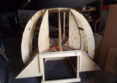 Start of big dome