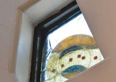 Turret window detail